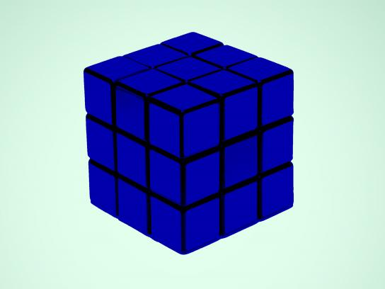 IKEA Print Ad - Rubiks