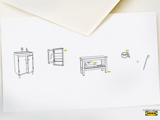 IKEA Print Ad - Say It In IKEA, 1