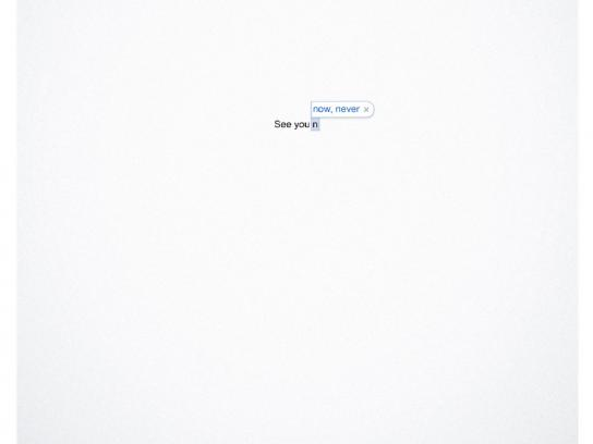 Volkswagen Outdoor Ad -  I'll be there in a while