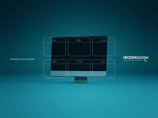 Niceshop Print Ad - Imac
