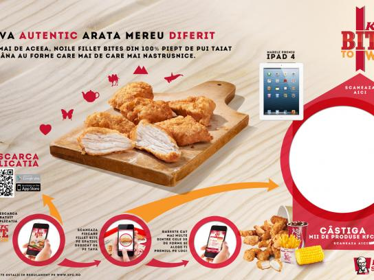 KFC Digital Ad -  Scan the bites