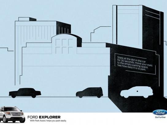 Ford Print Ad -  Dot