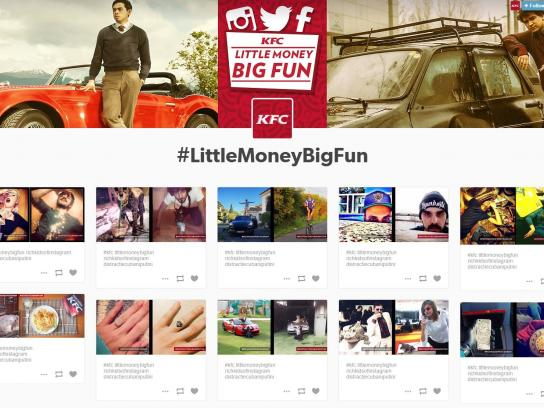 KFC Digital Ad -  Little money big fun