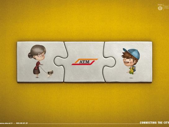 ATM Print Ad -  Yellow