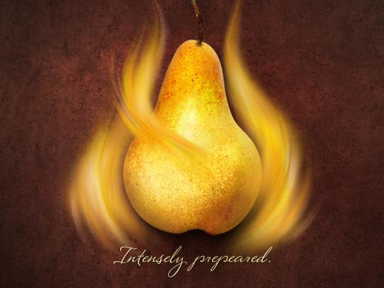 Lindt Print Ad -  Intensely prepeared