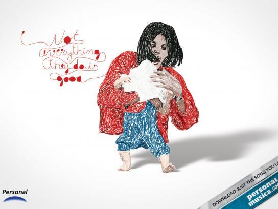 PersonalMusica.com Print Ad -  Michael