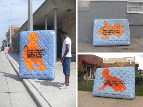 Stamped mattresses