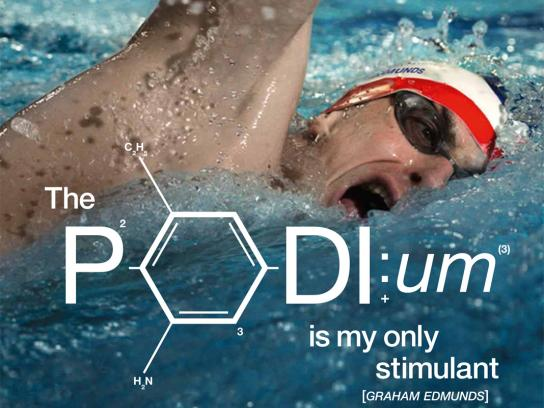 GlaxoSmithKline Outdoor Ad -  Anti-doping, Graham Edmunds