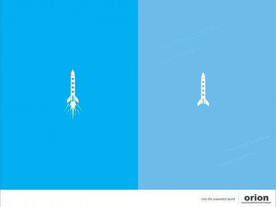 Orion Print Ad -  Rocket