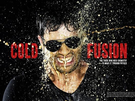 Coca-Cola Print Ad -  Fusion, Cold Fusion