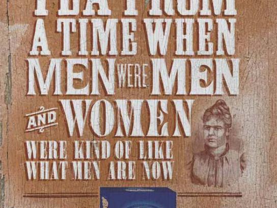 Billy Tea Print Ad -  Women were