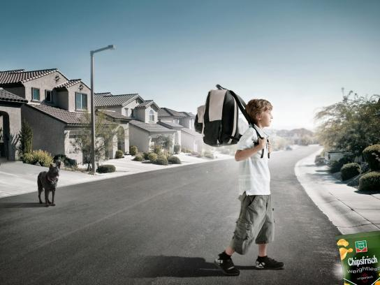 Chipsfrisch Print Ad -  Backpack