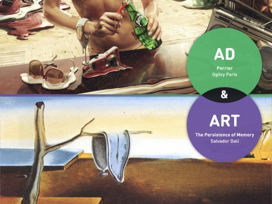 Karmany Print Ad -  Dali vs Ogilvy