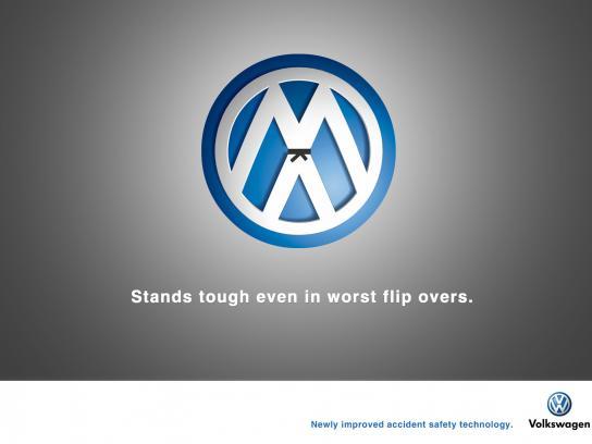 Volkswagen Print Ad -  Flip overs