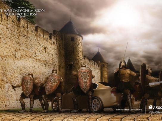 V-Kool Print Ad -  Armor, 2