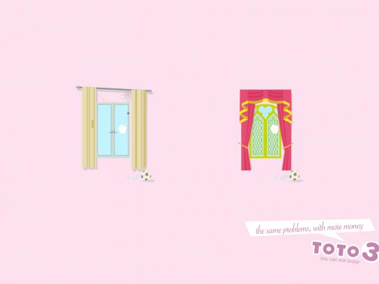 Toto 3 Print Ad -  Windows