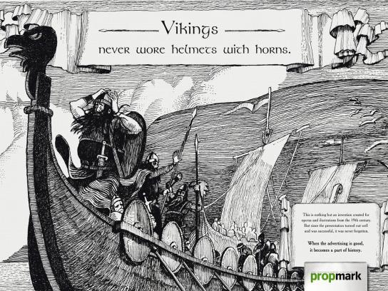 Propmark Print Ad -  Vikings