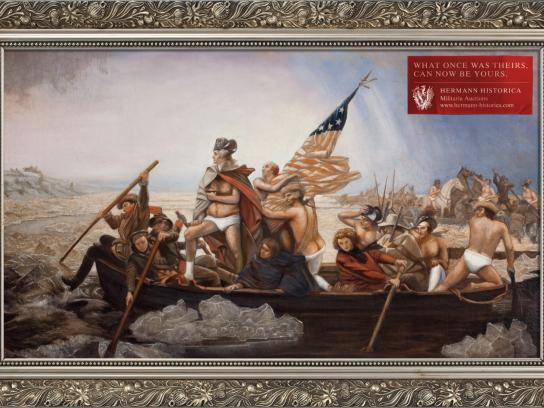 Hermann Historica Print Ad -  Washington