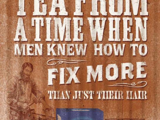 Billy Tea Print Ad -  Fix more