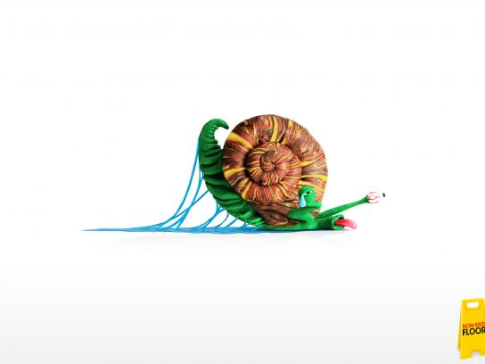 Francisco Petricio Print Ad -  Snail