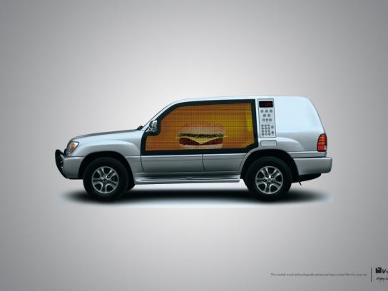V-Kool Print Ad -  Oven