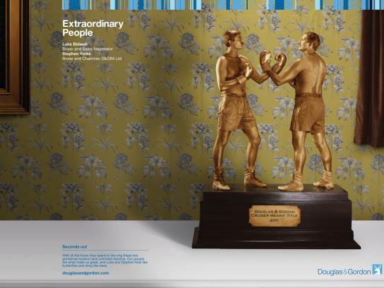 Douglas & Gordon Print Ad -  Extraordinary People, 3