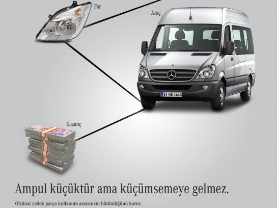Mercedes Print Ad -  After Sales Services, Commercial Vehicle
