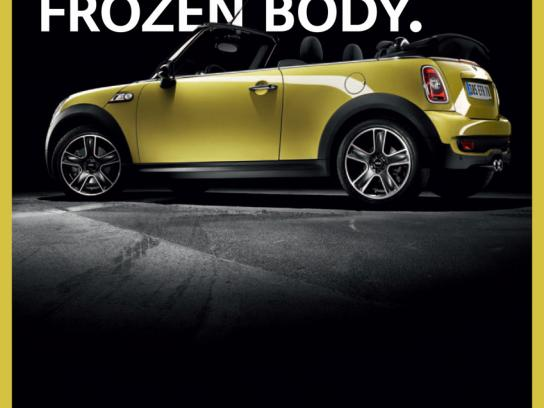 Mini Print Ad -  Frozen body