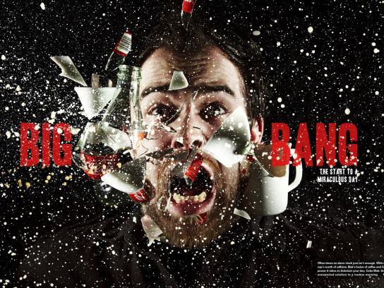 Coca-Cola Print Ad -  Fusion, Big Bang