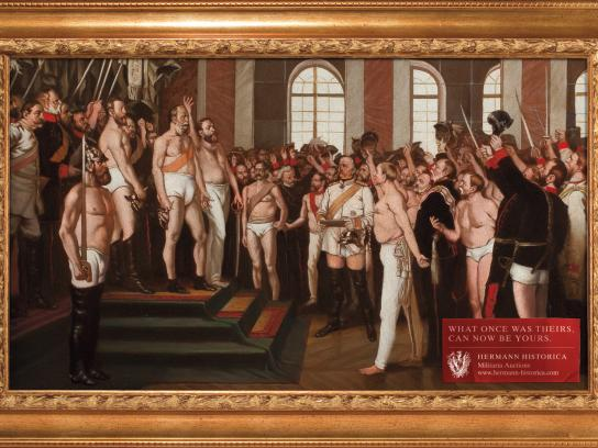 Hermann Historica Print Ad -  Kaiser Wilhelm