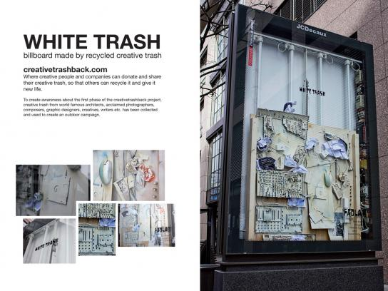 creativetrashback Outdoor Ad -  White Trash