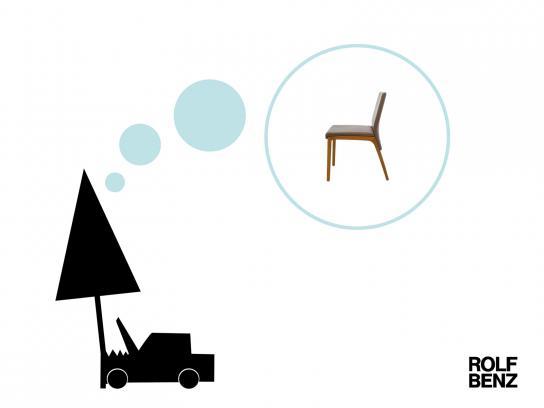 Rolf Benz Print Ad -  Car