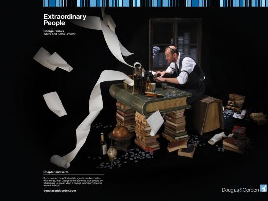 Douglas & Gordon Print Ad -  Extraordinary People, 4