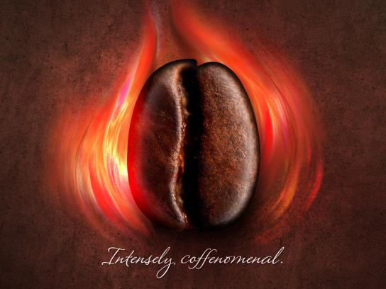 Lindt Print Ad -  Intensely coffenomenal