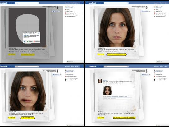 Terre Des Femmes Digital Ad -  Virtual Victim App