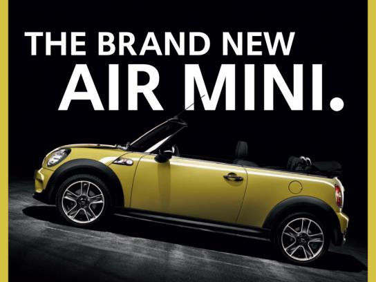 Mini Print Ad -  Air mini