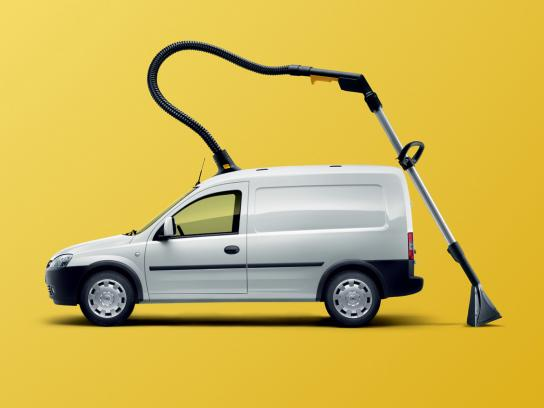 Opel Print Ad -  Vacuum