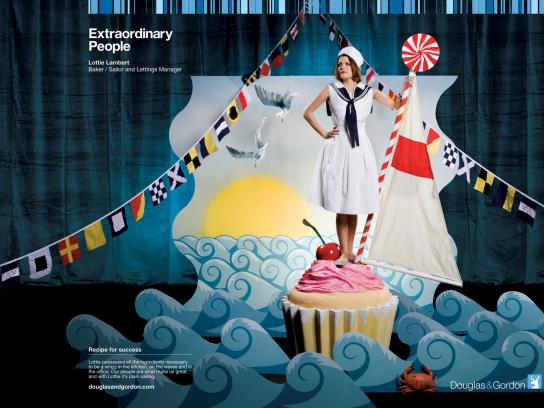 Douglas & Gordon Print Ad -  Extraordinary People, 5