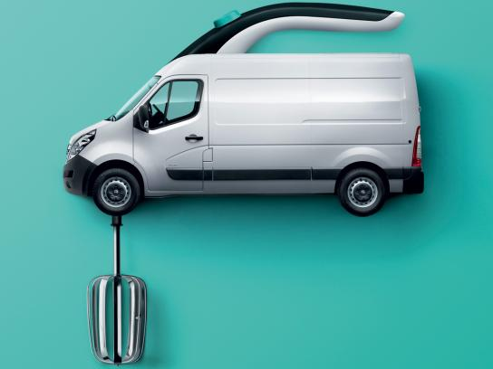 Opel Print Ad -  Mixer