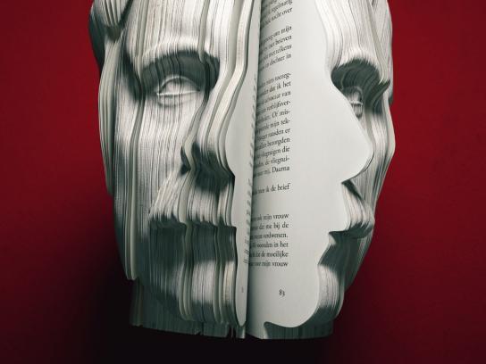 CPNB Print Ad -  Geschreven Portretten, 2