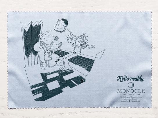 Monocle Print Ad -  Pig