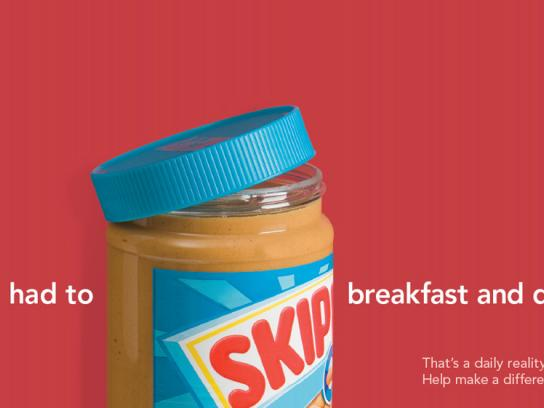 Food Banks Print Ad -  Skip