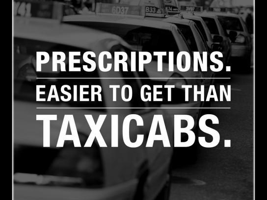 Duane Reade Print Ad -  Taxicabs