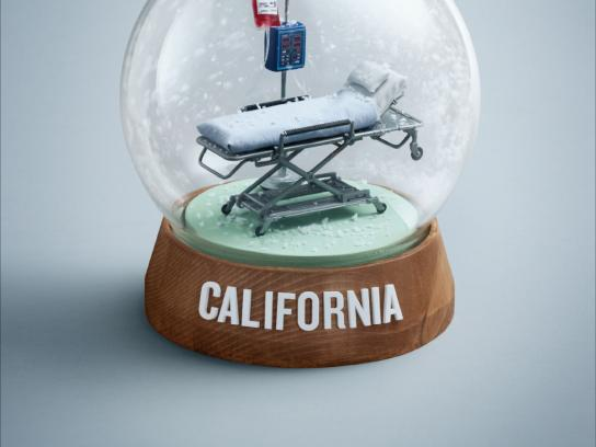BCAA Print Ad -  Snowglobe