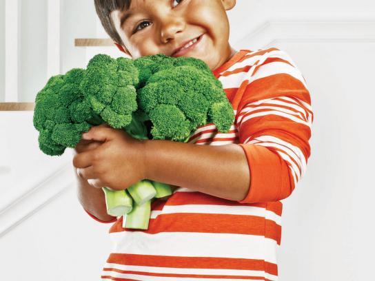 Chef Boyardee Print Ad -  Broccoli Boy