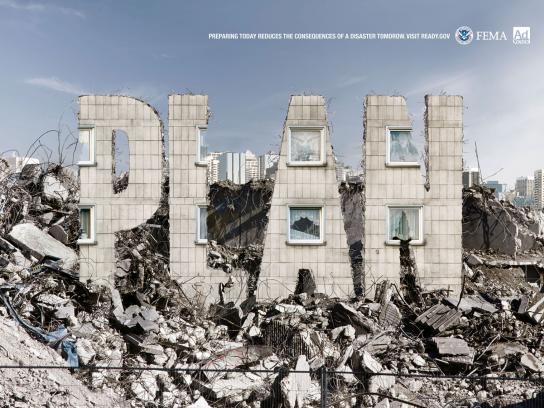 FEMA Print Ad -  Terrorist Attack
