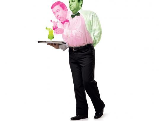 Stilgraf Print Ad -  Waiter