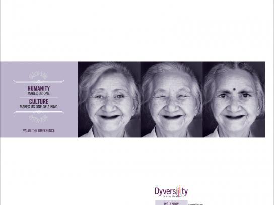 Dyversity Print Ad -  Smile