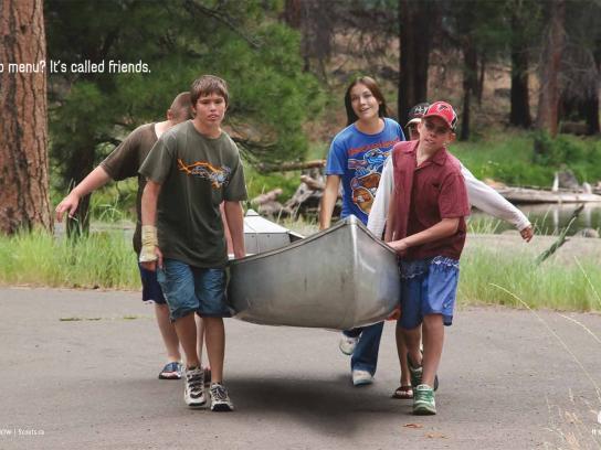 Boy Scouts Print Ad -  Friends