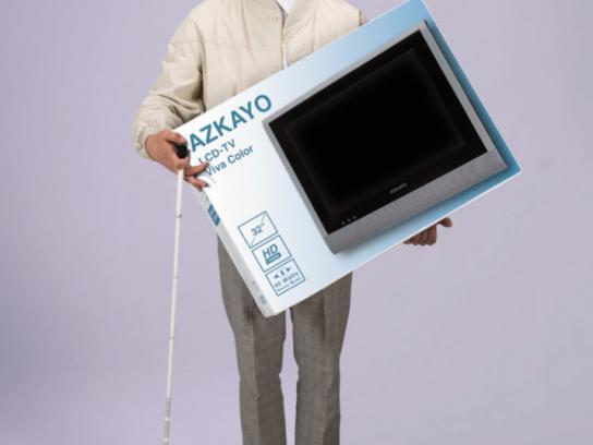 100W Print Ad -  TV